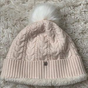 Cream Lululemon winter hat